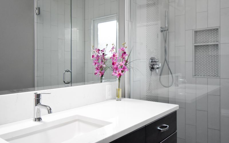 Tackling A Retro Pink & Blue Bathroom In NE Portland