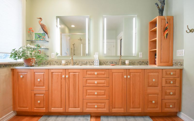 New Master Bathroom and Kitchen