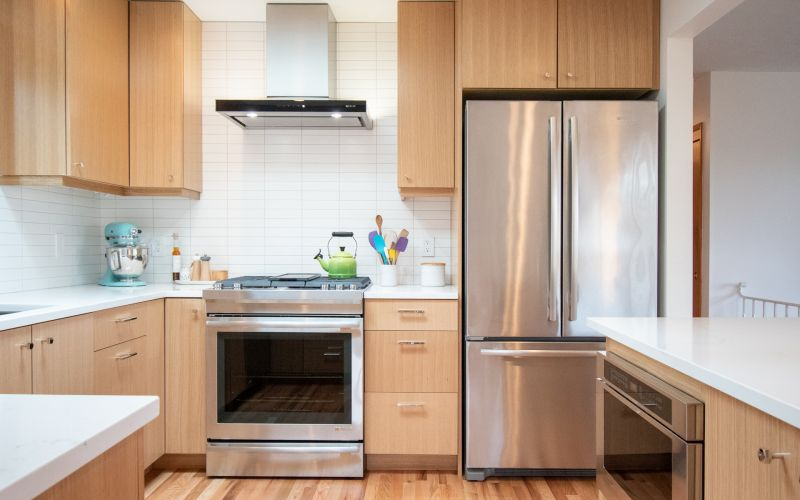 Modern Kitchen Opened Up and Updated