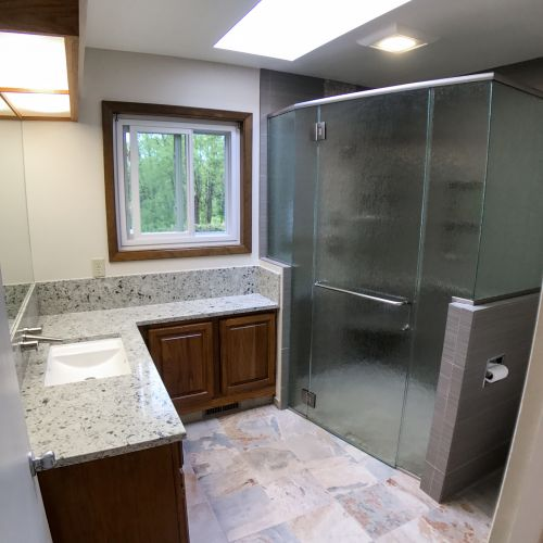Opening Up A Cramped Bathroom In Portland, OR