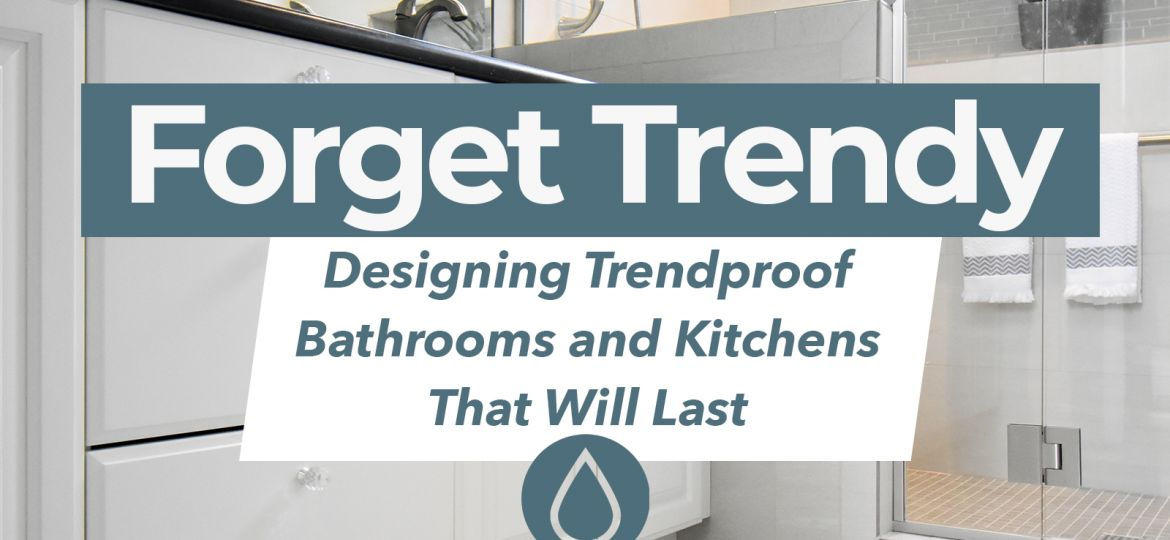 Blog title with remodeled bathroom